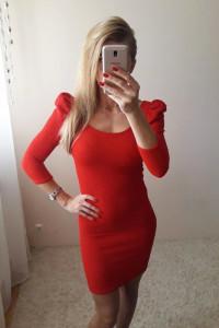 Elastyczna sukienka S...