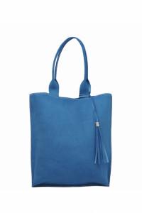 Torba Shopper Bag z naturalnej skóry włoskiej...