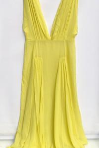 Sukienka Plażowa Żółta S 36 By Malene Birger Plaże Long Jedwab...