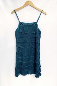 Sukienka Frędzle Vero Moda S 36 Frędzelki Zielona Imprezowa...