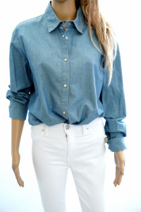 Pinko nowa oryg koszula jeansowa z frędzlami...