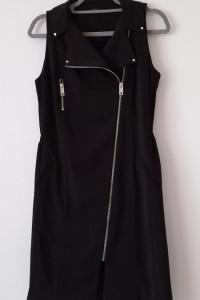 Mohito Czarna prosta zasuwana sukienka 36...