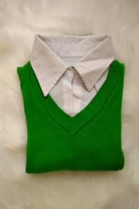 Zielony sweterek 2 w 1...