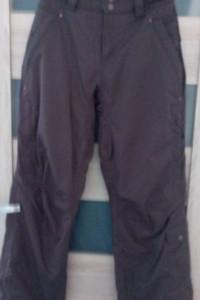 spodnie narciarskie ciemno brązowe...