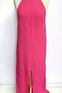 Sukienka Różowa L 40 Asos Róż Długa Odkryte Plecy Maxi...