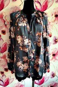 rosie bluzka elegancka modny wzór kwiaty hit blog 40