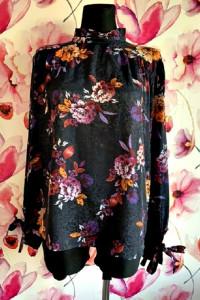 primark bluzka elegancka kwiecista kwiaty jak nowa 46