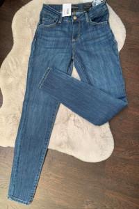 Niebieski Dżinsowe spodnie...