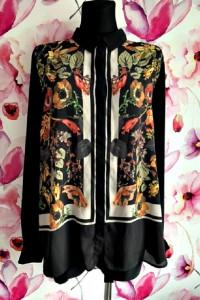 next koszula jak nowa modny wzór kwiaty floral hit 48...