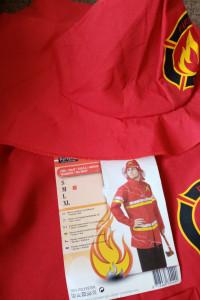 Kostium strój strażaka rozmiar M Karnawał halloween cosplay...