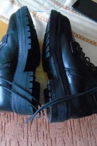 Jesienne czarne botki za kostkę Jenny Fairy damskie