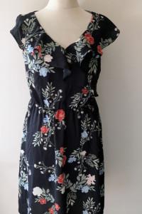 Sukienka NOWA Kwiaty Granatowa Tom&Rose M 38 Wizytowa
