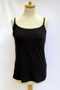 Bluzka Koszulka Czarna Do Karmienia Lindex 44 46 L Mama