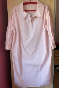 Global Work koszulowa sukienka prążki