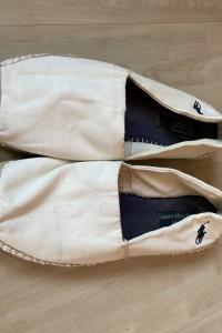 Ralph Lauren białe espadryle męskie rozmiar 11