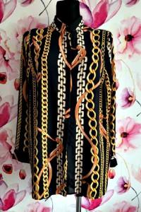 primark koszula mgiełka modny wzór łańcuszki nowa hit 40