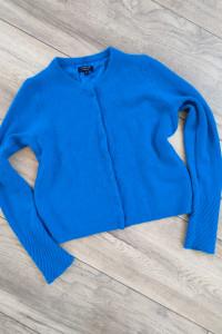 Kaszmirowy sweter Niebieski JIGSAW Cashmere M...