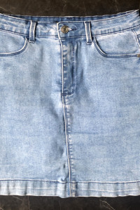 Missguided spódniczka mini jeansowa obcisła rozmiar S 36 stan BDB