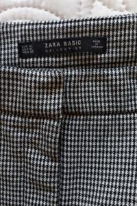 spodnie pepitka Zara 42 44...