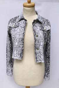 Kutka Katanka XS 34 Fashion Nova Dzinsowa Skóra Węża