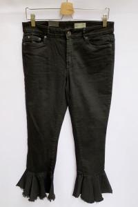 Spodnie Czarne L 32 Vero Moda Rozszerzne Nogawki Skinny...