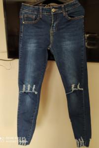 jeansy rurki nowe m l...