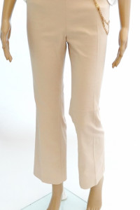 Liu Jo nowe oryg spodnie z łańcuchem beż...