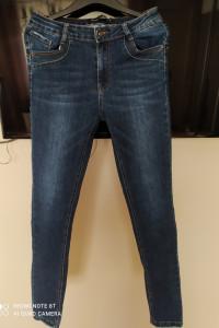 nowe jeansy rurki l 40...