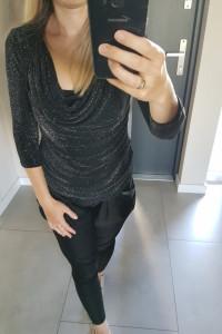 Cekinowa bluzka Orsay M