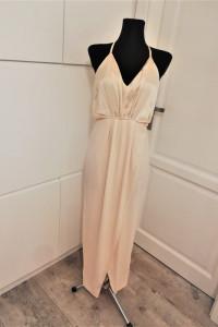 Morelowa maxi dress sukienka wieczorowa...