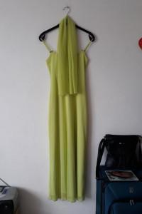 Długa sukienka szal...