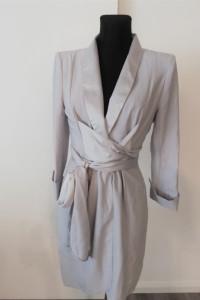 Szara sukienka Asos klasyka...