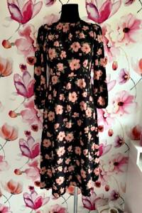 new look petite sukienka długa modny wzór kwiaty floral hit 36...