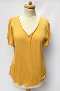 Bluzka H&M Mama L 40 Żółta Do Karmienia Mom Mum