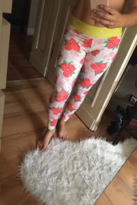 Oryginalne legginsy do treningu Adidas by Stella McCartney...