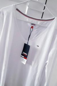 Tommy Hilfiger biała basic minimalizm