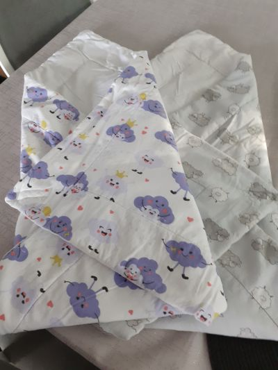 Pozostałe Rożek becik niemowlęcy 2 szt
