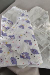 Rożek becik niemowlęcy 2 szt