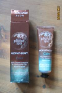 Krem do rąk Aromaterapia z eukaliptusem i miętą Avon
