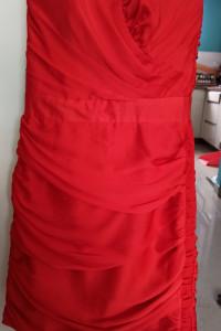 Seksowna krótka sukienka