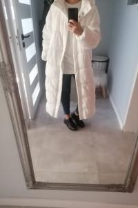 Pikowany płaszcz Reserved 38