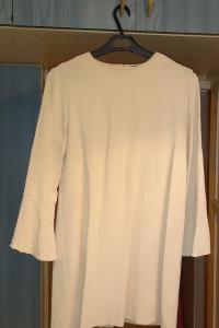 sukienka zara sukienka beżowa