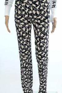 Mangano nowe oryg spodnie proste nogawki koty...