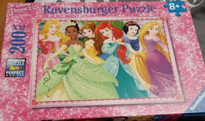 Zabawki Puzzle Ravensburger Księżniczki