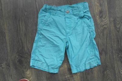 Spodnie i spodenki H&M krótkie spodenki niebieskie 104