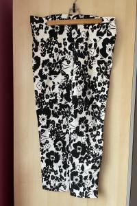 Dorothy Perkins spodnie wzory kwiaty floral retro...