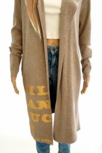 Gil Santucci oryg sweter kardigan kaptur