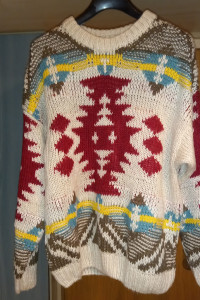 Sweter pull&bear etno