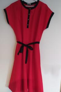 Czerwona sukienka Peckott