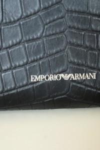 Emporio Armani nowa oryg torebka skóra nat duża